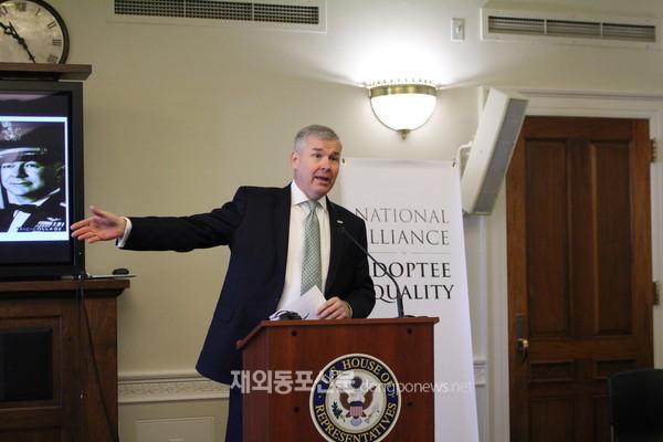 미주한인유권자연대는 11월 13일 미 연방의사당에서 '입양인 평등을 위한 전국연대' 출범식을 개최했다. (사진 미주한인유권자연대)