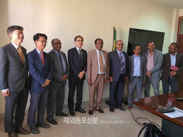 산림청이 에티오피아에서 평화산림이니셔티브 시범사업을 추진한다. (사진 산림청)